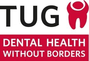 TUG Logo som står for Dental health without borders som Hvidovre tandlæge er medlem af